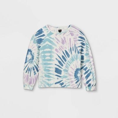 Girls' Boxy Pullover Sweatshirt - art class™