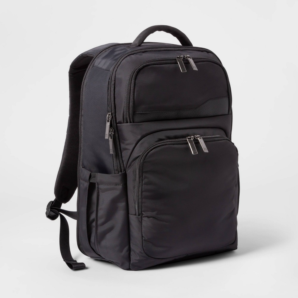 Image of Day Trip Backpack Black Open Story