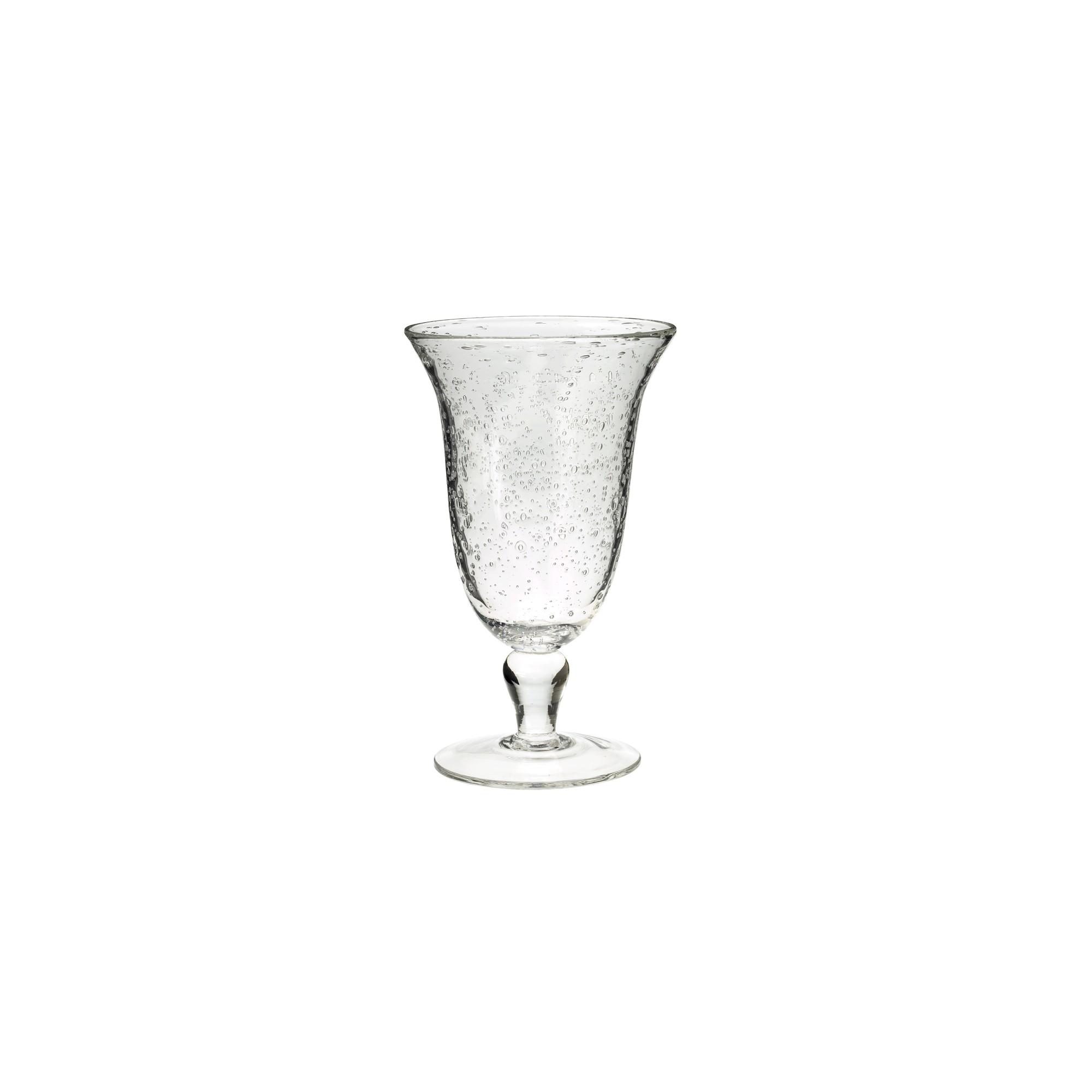 Artland Iris 18oz 4pk Glass Goblets, Clear