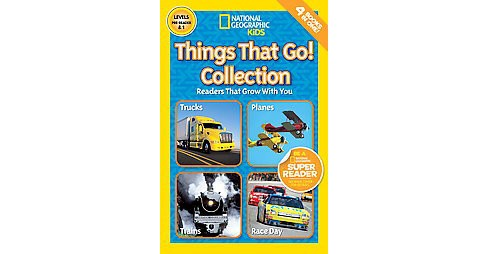 Things That Go! Collection : Levels Pre-reader & 1 (Paperback) (Gail Tuchman & Wil Mara & Amy Shields) - image 1 of 1