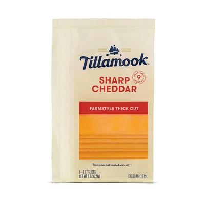 Tillamook Sharp Cheddar Cheese Slices - 8oz
