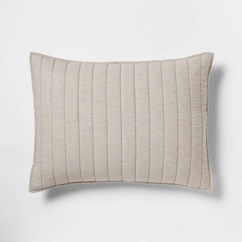 Herringbone Flannel Sham - Threshold™ - image 1 of 4