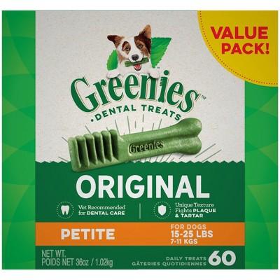 Greenies Original Petite Dental Dog Treats - 36oz