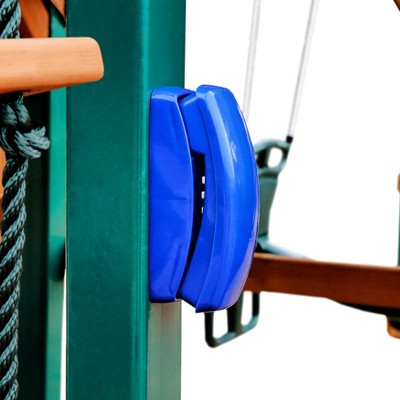Gorilla Playsets Play Phone Swing Set Accessory - Blue