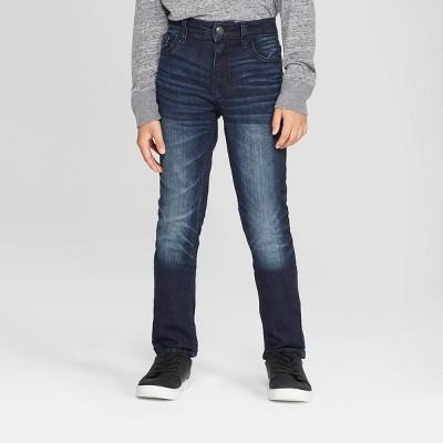 Boys' Stretch Skinny Fit Jeans - Cat & Jack™ Medium Blue