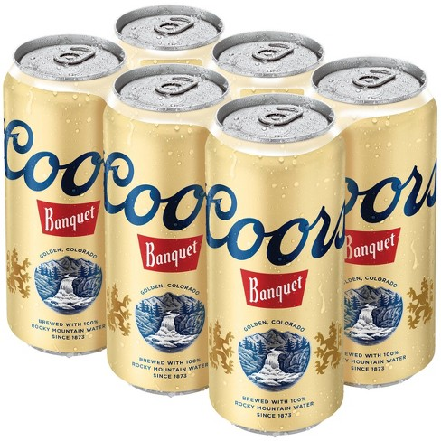 Coors Banquet Beer - 6pk/16 fl oz Cans - image 1 of 2