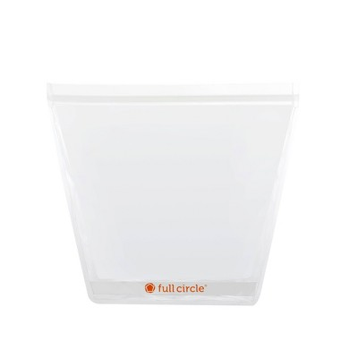 Full Circle 1 Gallon Reusable Storage Bag Clear