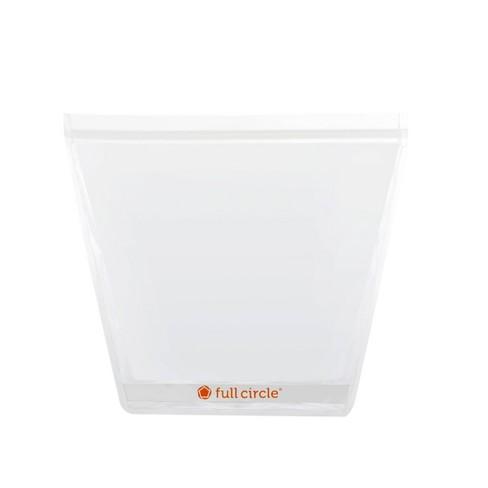Full Circle 1 Gallon Reusable Storage Bag Clear - image 1 of 4