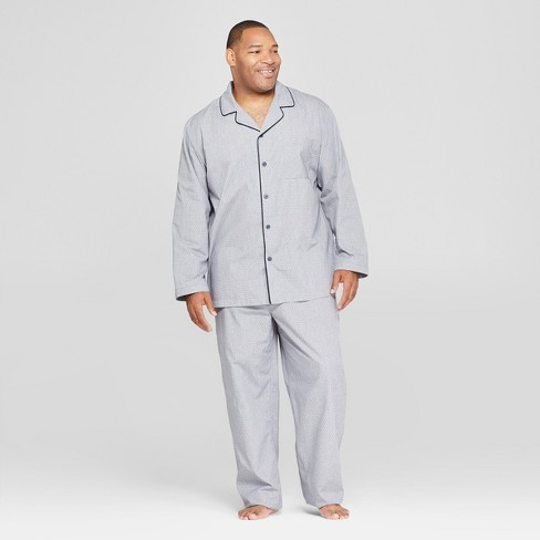 Men's Big & Tall Polka Dot Woven Pajama Set - Goodfellow & Co™ - image 1 of 2
