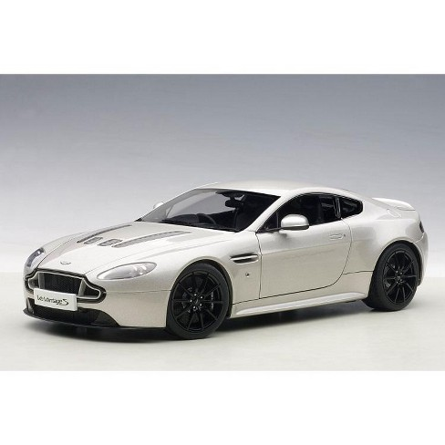 2015 Aston Martin V12 Vantage S Meteorite Silver 1 18 Diecast Model Car By Autoart Target