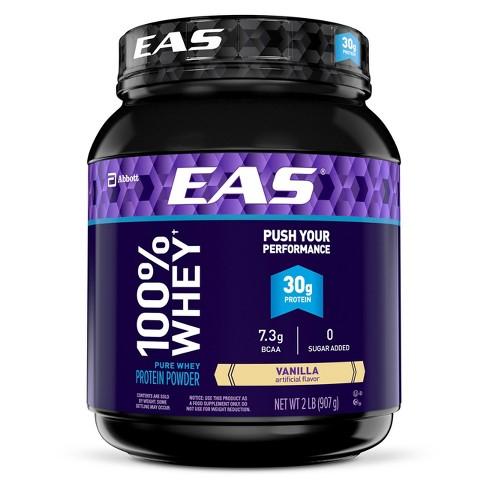 EAS® 100% Whey Protein Powder - Vanilla - 2lbs