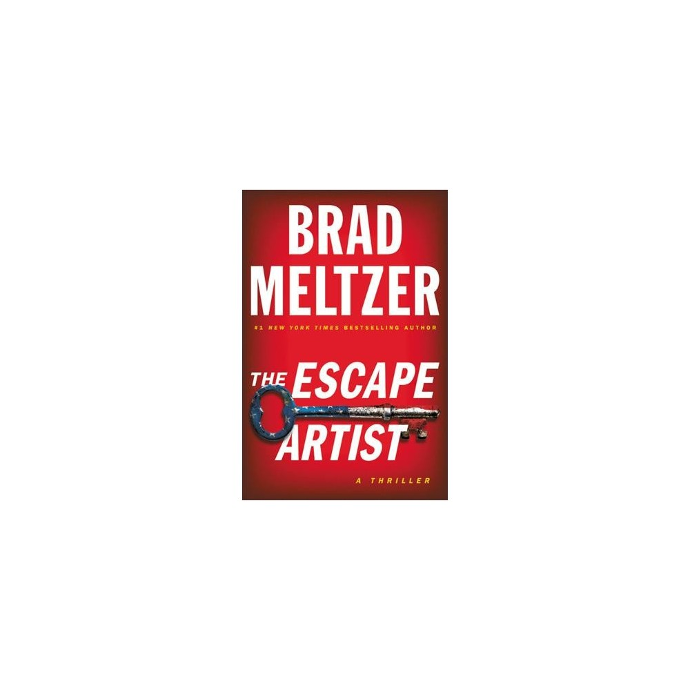 Escape Artist - Lrg by Brad Meltzer (Hardcover)