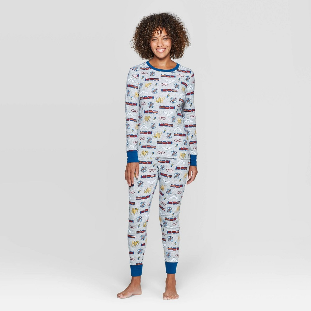 Women's Harry Potter Family Pajama Set - Gray L, Women's, Size: Large was $24.99 now $17.49 (30.0% off)