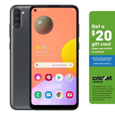 Cricket Prepaid Samsung A11 (32GB) - Black