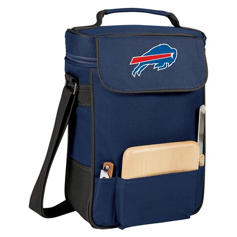 Picnic Time NFL Team Duet Wine and Cheese Tote - Navy - image 1 of 2