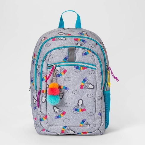 """17"""" Panda Kids' Backpack Gray - Cat & Jack™ - image 1 of 3"""