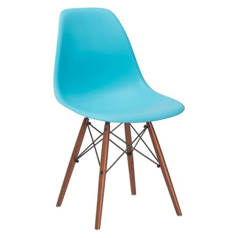 Bianca Mid Century Side Chair Walnut Legs - Poly & Bark - image 1 of 3