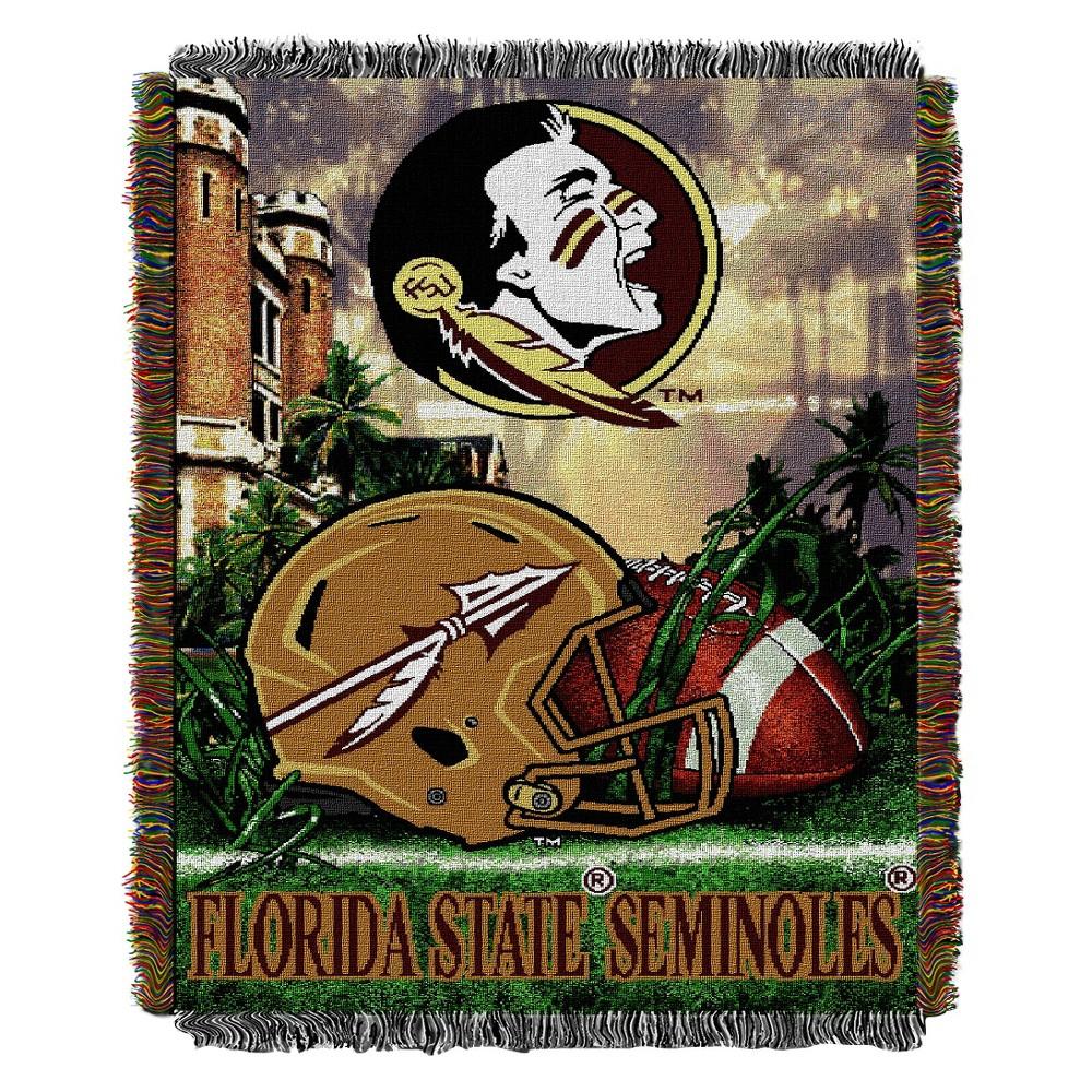 Ncaa Florida State Seminoles Home Field Advantage College Throw Blanket