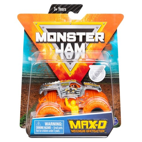 Monster Jam 1:64 Single Pack Assorted - Max D Neon - image 1 of 4