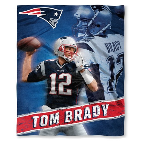 Wholesale NFL New England Patriots Tom Brady The Northwest Co. Silk Touch