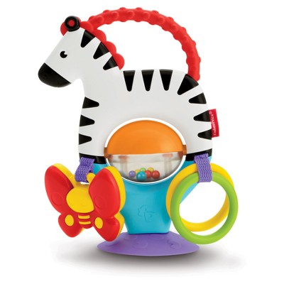 Fisher-Price Activity Zebra High Chair Toy
