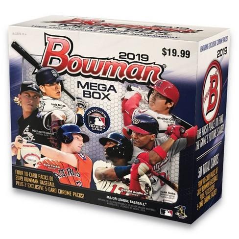 2019 Topps Mlb Bowman Baseball Trading Card Mega Box