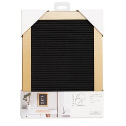 Letterboard Set with Letters Black - Project 62™