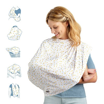Munchkin Milkmakers Antimicrobial 5-in-1 Nursing Cover
