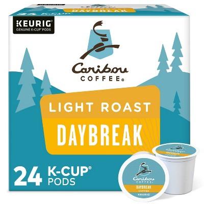 Caribou Coffee Daybreak Blend Keurig K-Cup Coffee Pods - Light Roast - 24ct