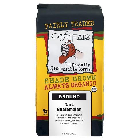 Caf Fair Dark Guatemalan Roast Ground Coffee 10oz