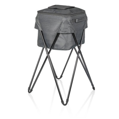 Oniva Camping 183qt Party Cooler with Stand - Heathered Gray