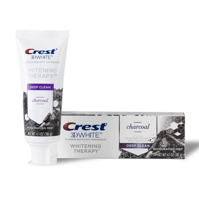 Crest 3D White Charcoal Whitening Toothpaste - 4.1oz