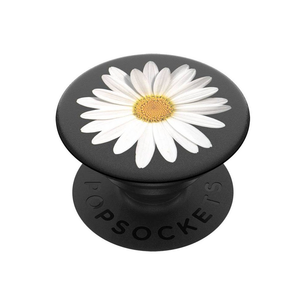 PopSockets PopGrip Cell Phone Grip & Stand - White Daisy