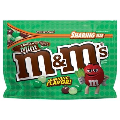 Chocolate Candies: M&M's Crunchy Mint