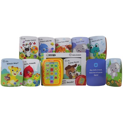 Pi Kids Baby Einstein Electronic Me Reader Jr. 8-Book Library Boxed Set