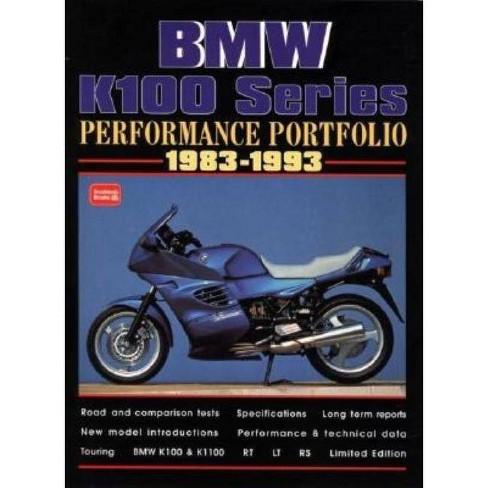 BMW K100 Series 1983-1993 Performance Portfolio - by  R M Clarke (Paperback) - image 1 of 1