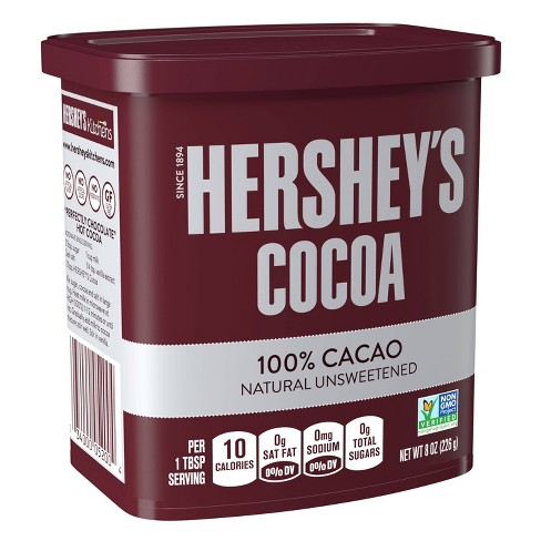 Hershey's Natural Unsweetened Cocoa - 8oz - image 1 of 4