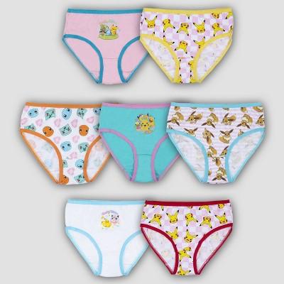 Girls' Pokemon 7pk Underwear