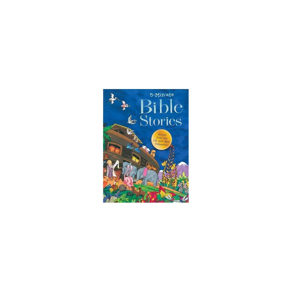 5 Minute Bible Stories - by Good Books (Hardcover)