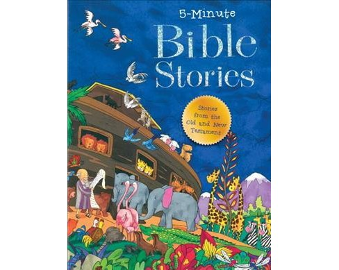 5 Minute Bible Stories -  by Good Books (Hardcover) - image 1 of 1