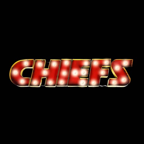 NFL Kansas City Chiefs Metal Signed Fixed Wall Lights - image 1 of 3