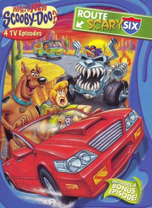What's New, Scooby-Doo?, Vol. 9: Route Scary Six (dvd_video) - image 1 of 1