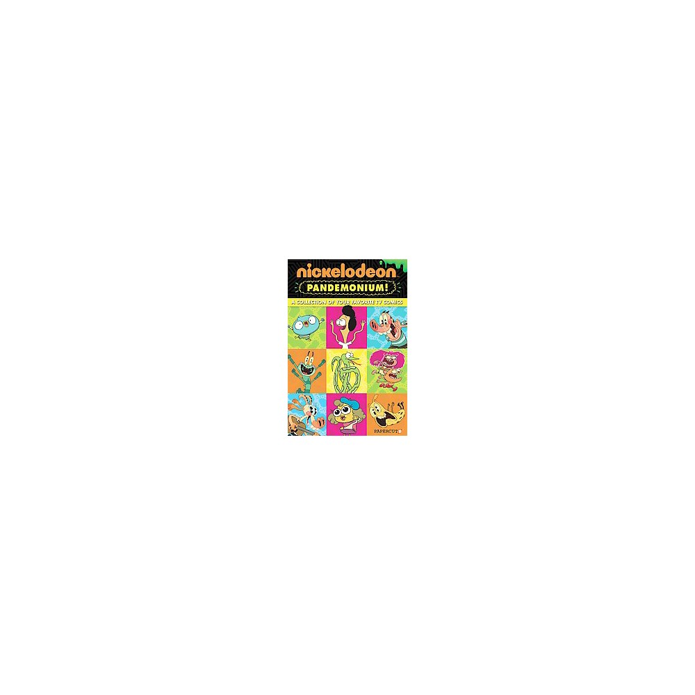 Nickelodeon Pandemonium 1 : Channeling Fun (Hardcover) (Eric Esquivel & Stefan Petrucha)