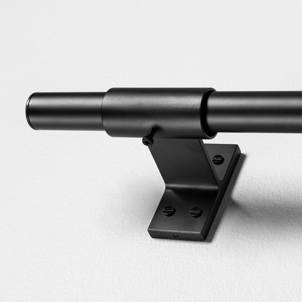 Image of 120 Curtain Rod Matte Black - Hearth & Hand with Magnolia