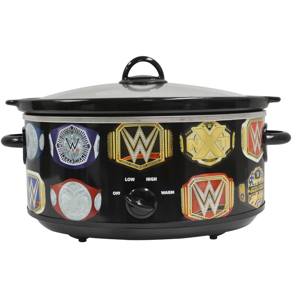 Image of Uncanny Brands - WWE Championship Belt 7qt Slow Cooker
