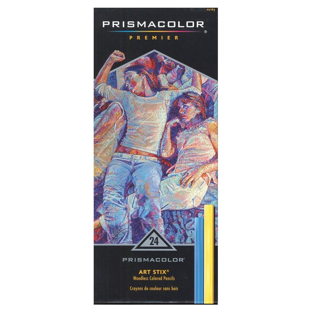 Art Stix Pastel Set - Prismacolor 24ct, Multicolored