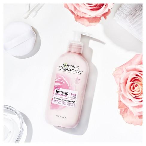 Garnier Skinactive Milk Face Wash With Rose Water 6 7 Fl Oz Target