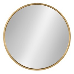 "Travis Round Mirror 25"" - Kate & Laurel"
