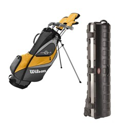 Wilson Profile XD Right-Handed Stand Bag Golf Club Set & Golf Bag Travel Case