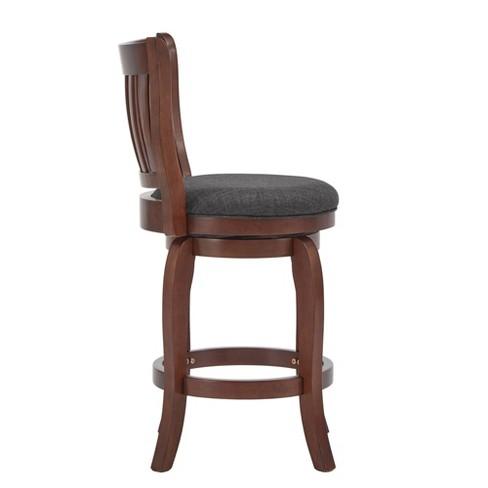 Brilliant 24 Tracee Swivel Counter Stool Charcoal Inspire Q Short Links Chair Design For Home Short Linksinfo